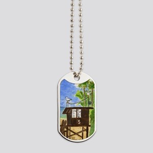 Lifeguard Tower #5 Dog Tags