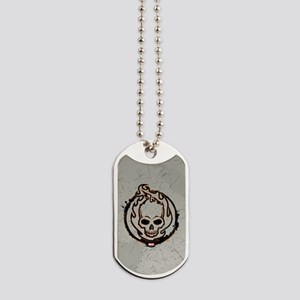 Ghost Rider Logo Dog Tags