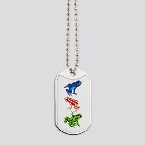 Dart Frogs Dog Tags