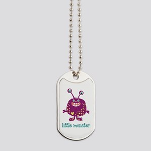 Little Monster Dog Tags