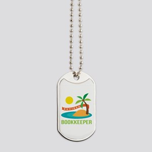 Retired Bookkeeper Dog Tags