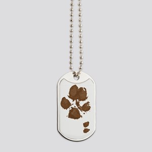 Muddy Double Dew Print Dog Tags