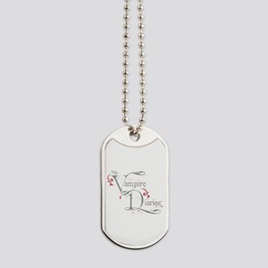 The Vampire Diaries grungy grey Dog Tags