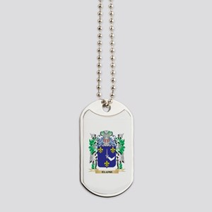 Elijah Coat of Arms (Family Crest) Dog Tags