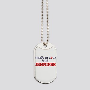 Madly in Love with Jennifer Dog Tags