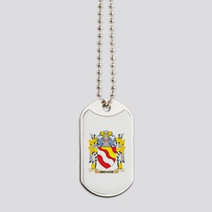 Brewer Coat of Arms - Family Crest Dog Tags
