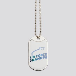 AIR FORCE GRANDPA Dog Tags