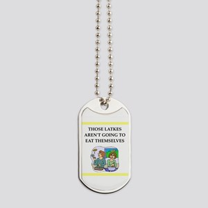 Funny food joke Dog Tags