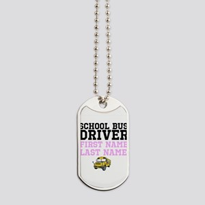 School Bus Driver Dog Tags