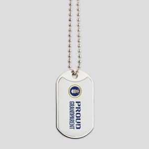 USAF: Proud Grandparent Dog Tags