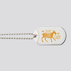 Crazy Goat Lady Dog Tags