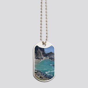 Big Sur Waterfall, Julia Pfeifer Beach Dog Tags