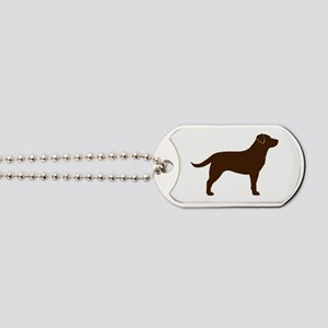 Chocolate Lab Dog Tags