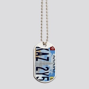 KAZ 275 Keyring Dog Tags