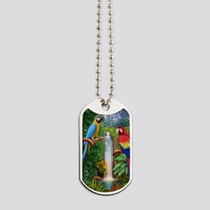 MaCaw Tropical Parrots Dog Tags
