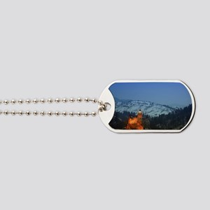 bran castle  Dog Tags