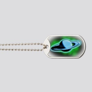 Flying Saturn Dog Tags