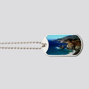 Big Sur on the Pacific Coast Dog Tags