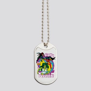 Marvel Comics Girl Power Dog Tags
