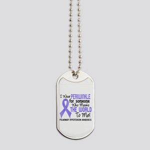 Pulmonary Hypertension MeansWorldToMe2 Dog Tags