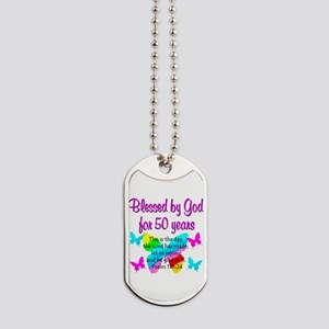DELIGHTFUL 50TH Dog Tags
