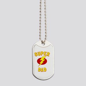 Super Dad Dog Tags