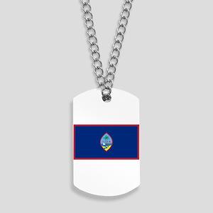 Guam Flag Dog Tags