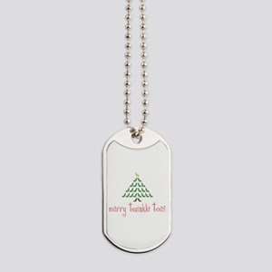 Merry Twinkle Toes Dog Tags