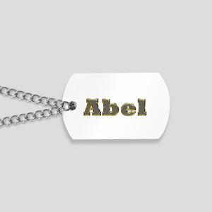 Abel Gold Diamond Bling Dog Tags
