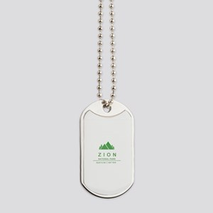 Zion National Park, Utah Dog Tags