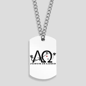 Jesus is Lord - Alpha & Omega Dog Tags