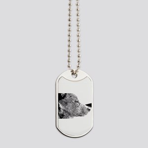 ACD Puppy Pondering Dog Tags