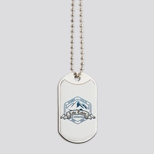 Lake Tahoe Ski Resort California Dog Tags