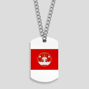 Laotian Royal Coat of Arms Dog Tags