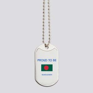 Proud to be Bangladeshi Dog Tags
