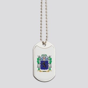 Abba Coat of Arms - Family Crest Dog Tags