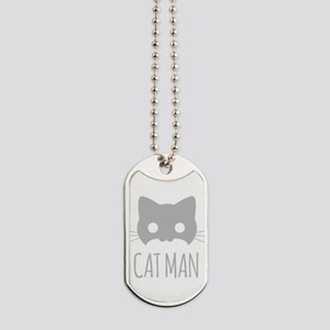 Cat Man Dog Tags