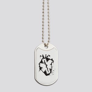 star of life heart Dog Tags
