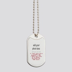 In memory of Personalize Dog Tags