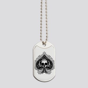 ace-spades-skull_wh Dog Tags