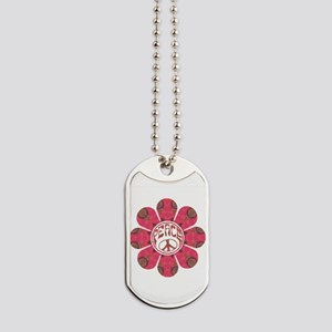 Peace Flower - Affection Dog Tags