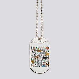 What Cats Say Dog Tags
