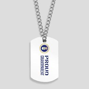 USAF: Proud Grandparent Dog Tags
