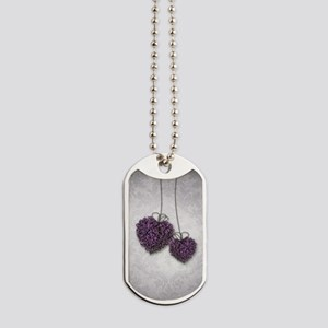 Purple Hearts Dog Tags