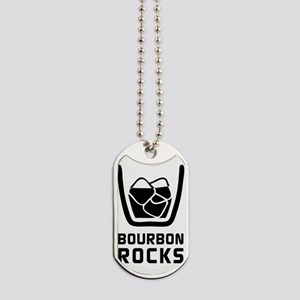Bourbon Rocks Dog Tags