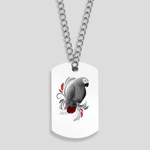 African Grey Dog Tags