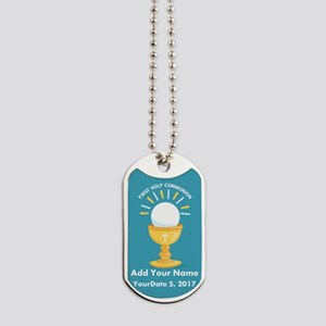 First Holy Communion Dog Tags