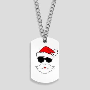 Cool Santa Claus Dog Tags
