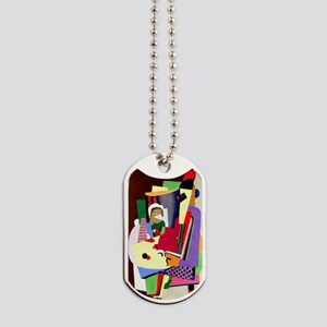 Georges Valmier - The Piano Lesson Dog Tags