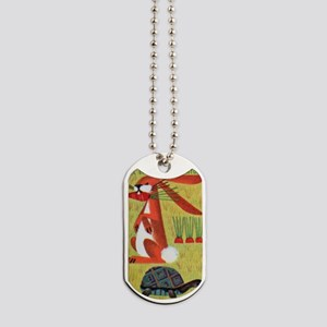 Vintage The Tortoise and the Hare Matchbo Dog Tags